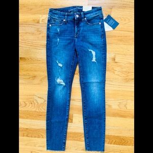 Universal Thread mid-rise skinny distressed jeans